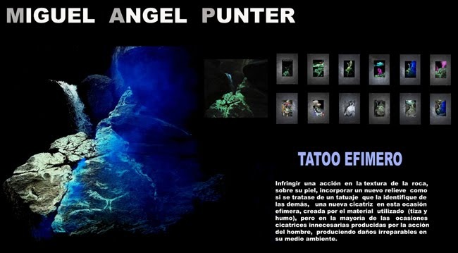 MIGUEL ANGEL PUNTER -TATOO EFIMERO