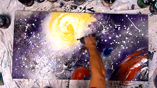 Amazing Fantasy Abstract Painting