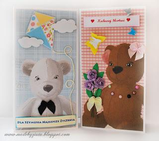czekoladnik, opakowanie na czekoladę, kartka na urodziny dla dziewczynki dla chłopczyka