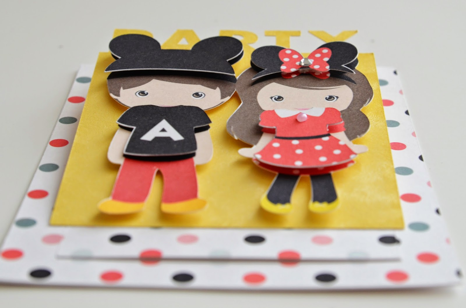 mickey and minnie invitations