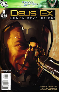Deus Ex : Human Revolution Comic