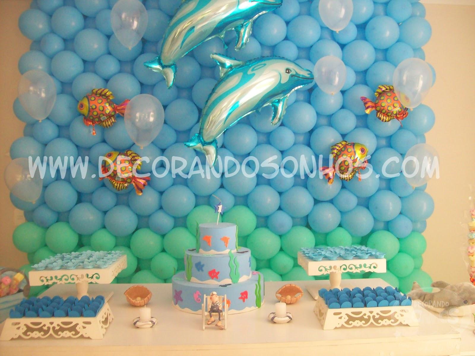 De Festa Infantil Fundo Do Mar Mural De Bal  Es Fundo Do Mar Festa De