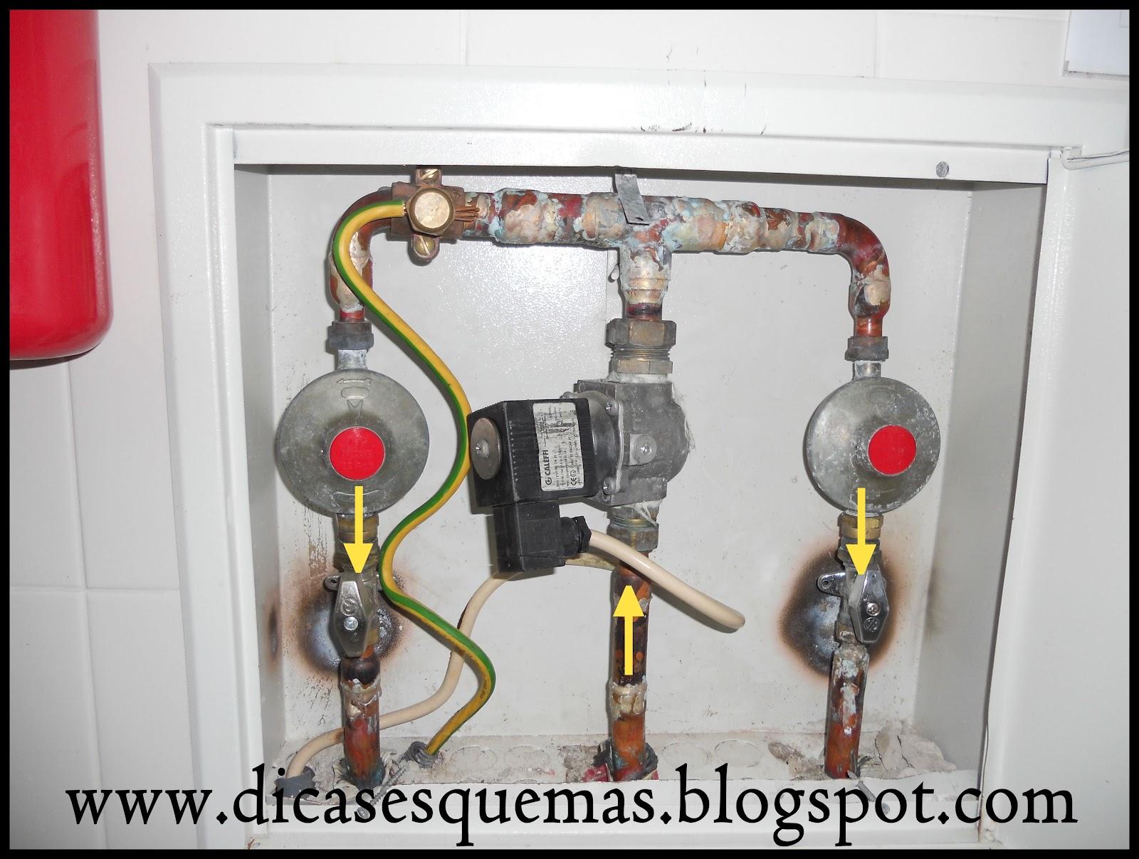 #BCA10F Dicas & esquemas.: O BOM E O MAU EXEMPLO DE UM COLETOR DE GÁS . 1600x1207 px Projeto De Gas Para Cozinha Industrial_4821 Imagens
