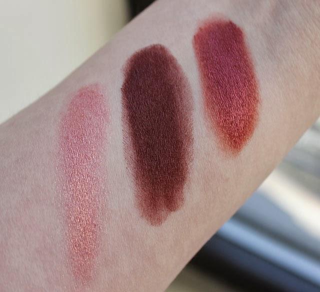 Portland Black Lipstick Company swatches