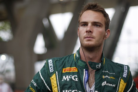 Van der Garde and Sauber, it's over