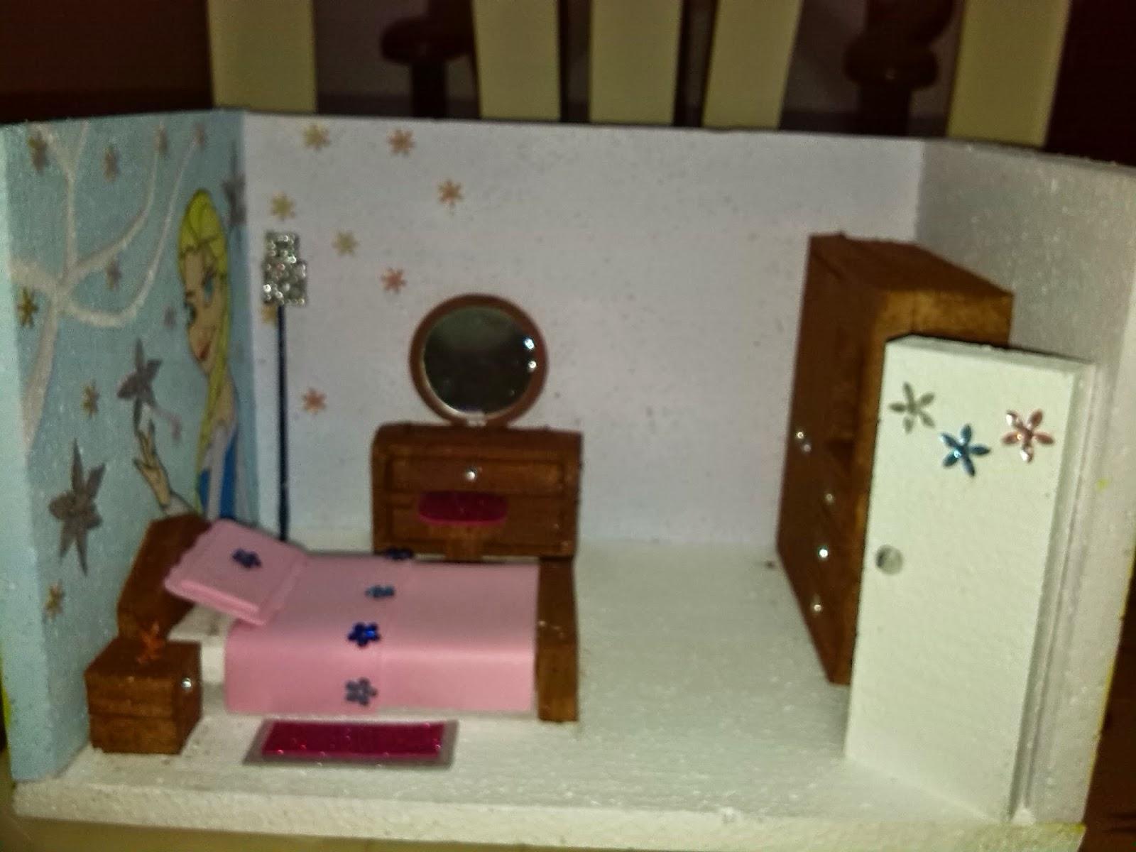 Maqueta de casas con material reciclable casa de maqueta - Casa de manualidades ...