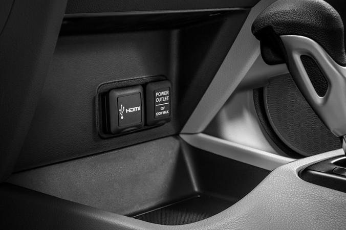 Novo Honda Civic 2016 - entrada HDMI