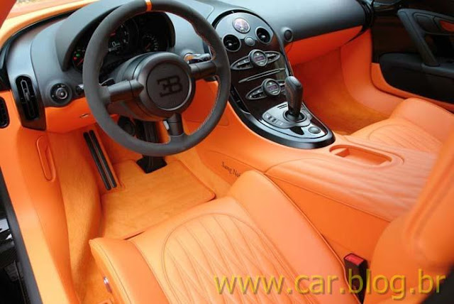 Bugatti Veyron Super Sports - interior painel