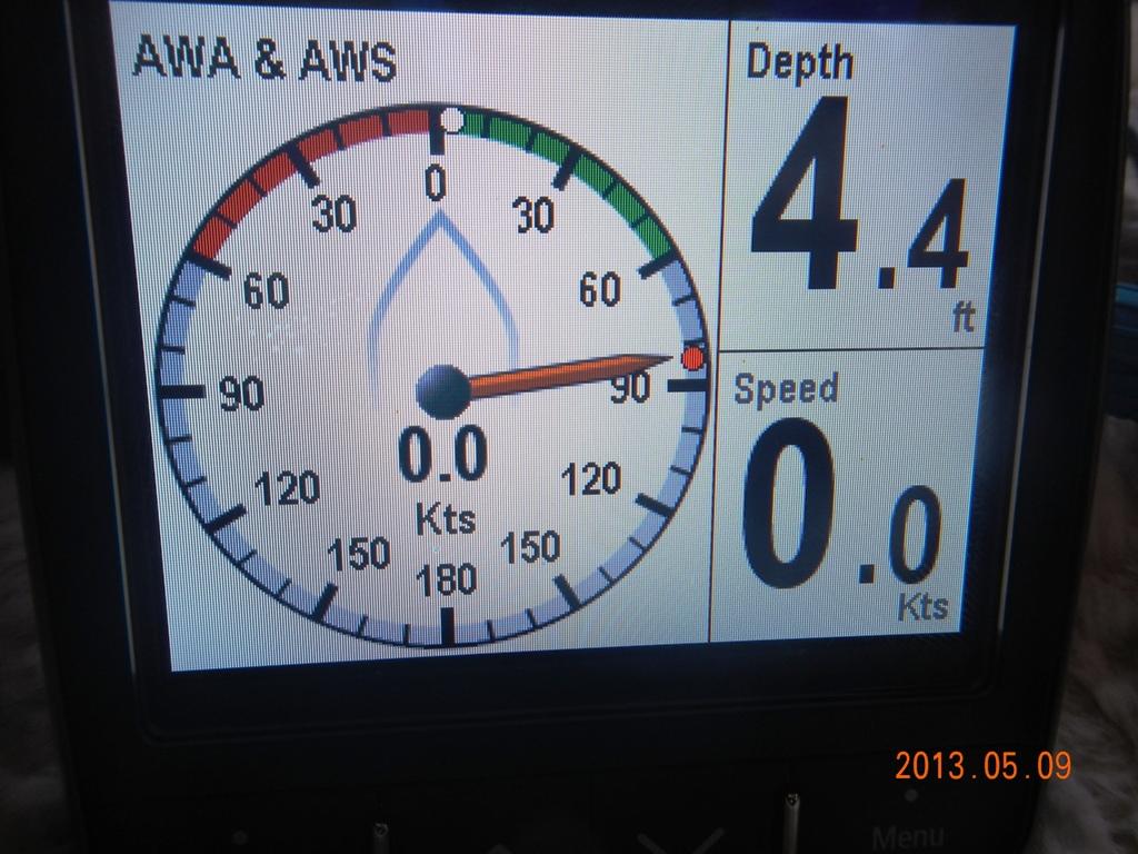 Sailing Vessel Still Time: CS34 Instrument Transducers