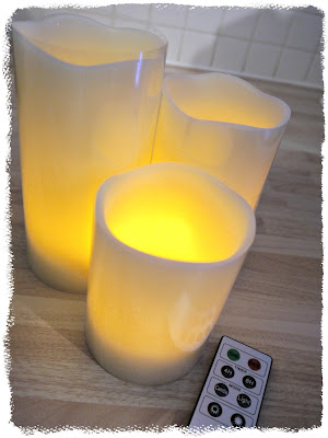 LED candles, mood lighting