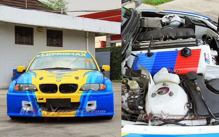 Modifikasi Mobil BMW E46 WTCC Style