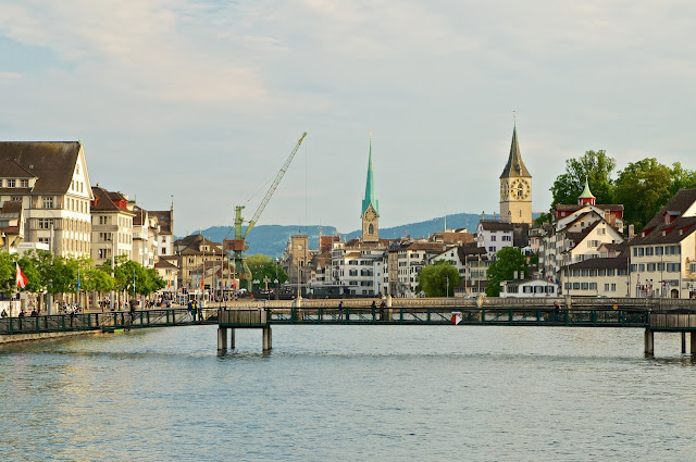 wisata, zurich,switzerland,swiss,sungai limmat