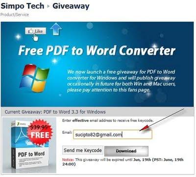 Gratis Simpo PDF ke Word Converter 3.3 untuk Windows