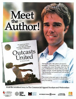 a reflection of warren st johns outcast united Outcasts united study guide contains a biography of warren st john, literature  essays, quiz questions, major themes, characters, and a  our education system  should reflect that diversity, including diversity of nationality and.