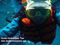 sewa alat snorkeling di karimunjawa