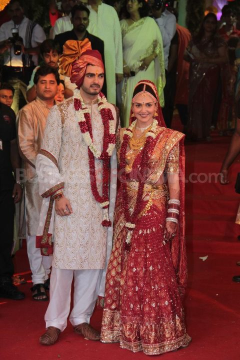 Esha Deol Bharat Takhtani Marriage - Esha Deol Marriage Pics