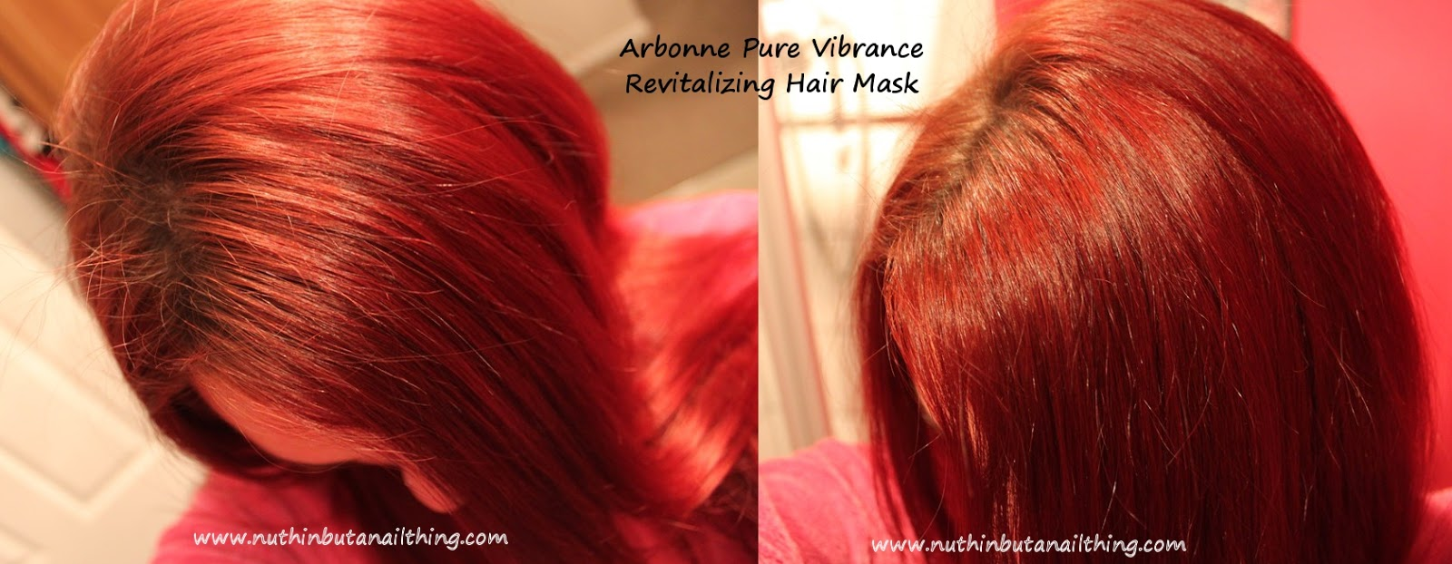 coloured hair shampoo review Arbonne - Pure Vibrance - Shampoo and Conditioner