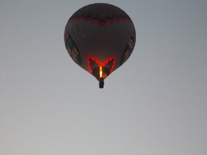 Tuesday(22-9-2015):- Hot Air balloon up in the Goreme sky.