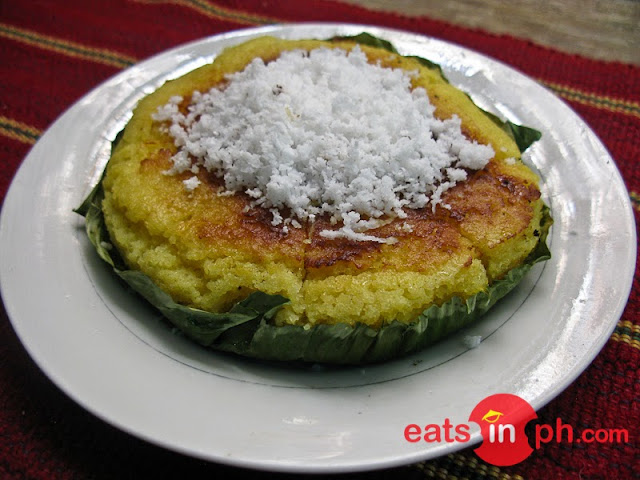Bibingka from Chocolate de Batirol at Camp John Hay, Baguio City