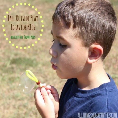 Fall Outside Play Ideas for Kids