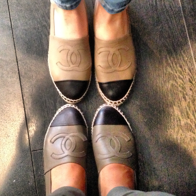 Women's Chanel Espadrilles Saks on Poshmark