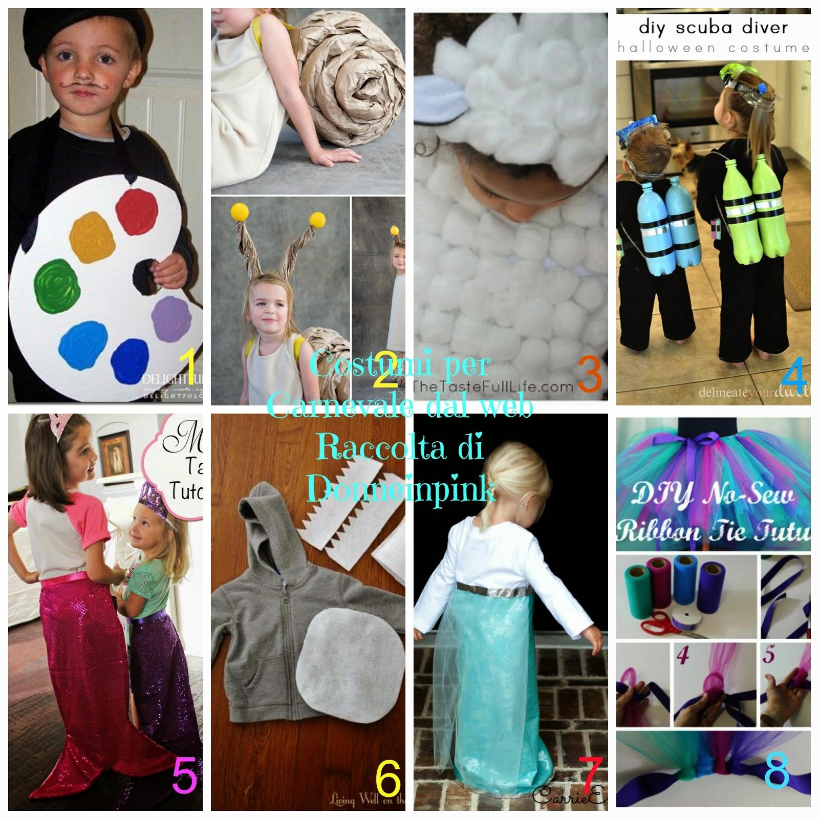8 Costumi di Carnevale fai da te - Tutorial semplici e veloci ... e931398a8954