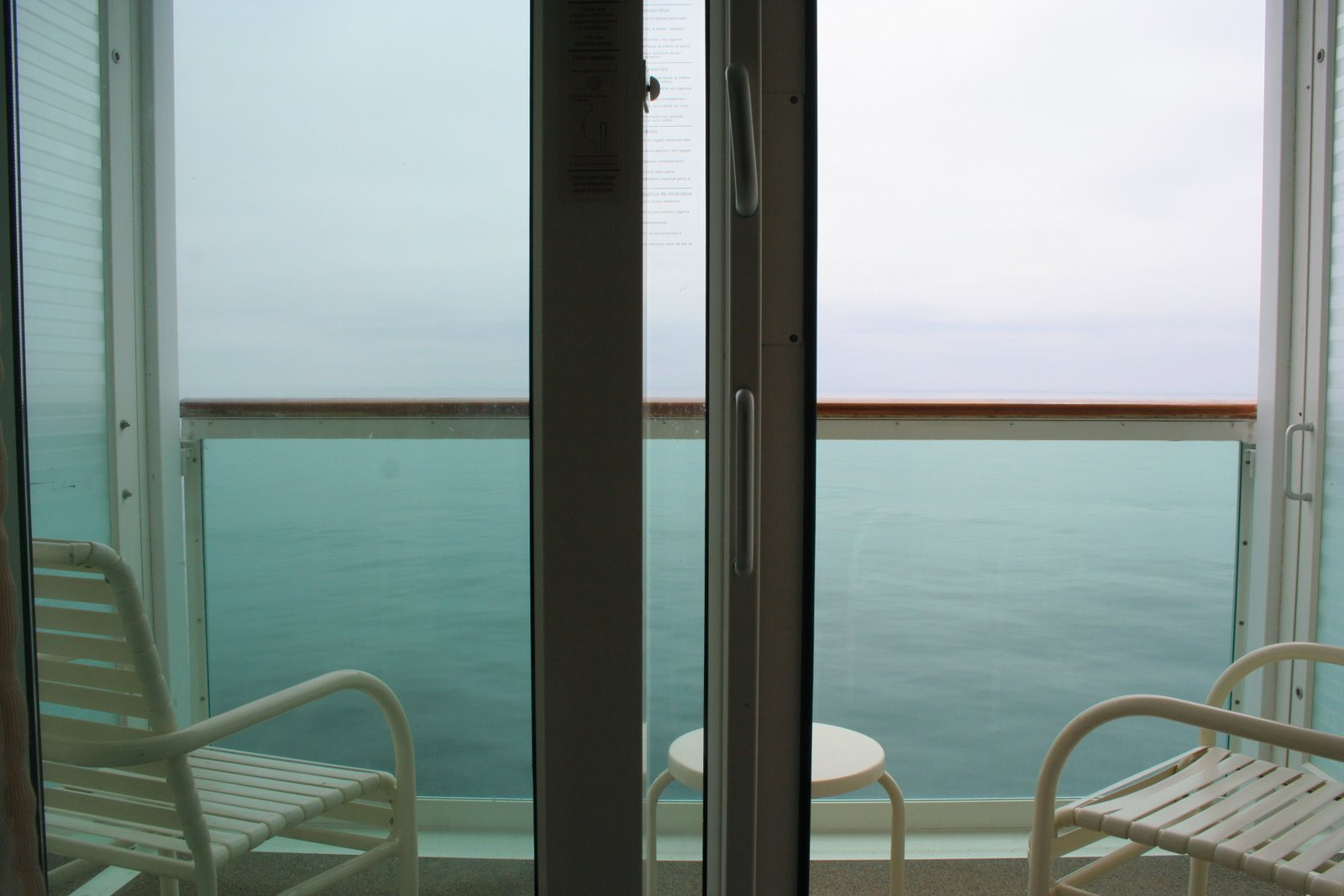 To Close Or Not To Close The Balcony Door Conundrum Cruise1st Blog