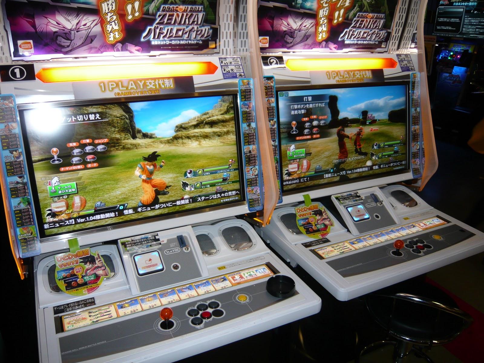 Japan, Arcades & Gaming: Ikebukuro Arcade Game Centres