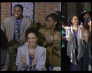 Cosby Show Huxtable fashion blog 80s sitcom Sabrina Le Beauf Sondra