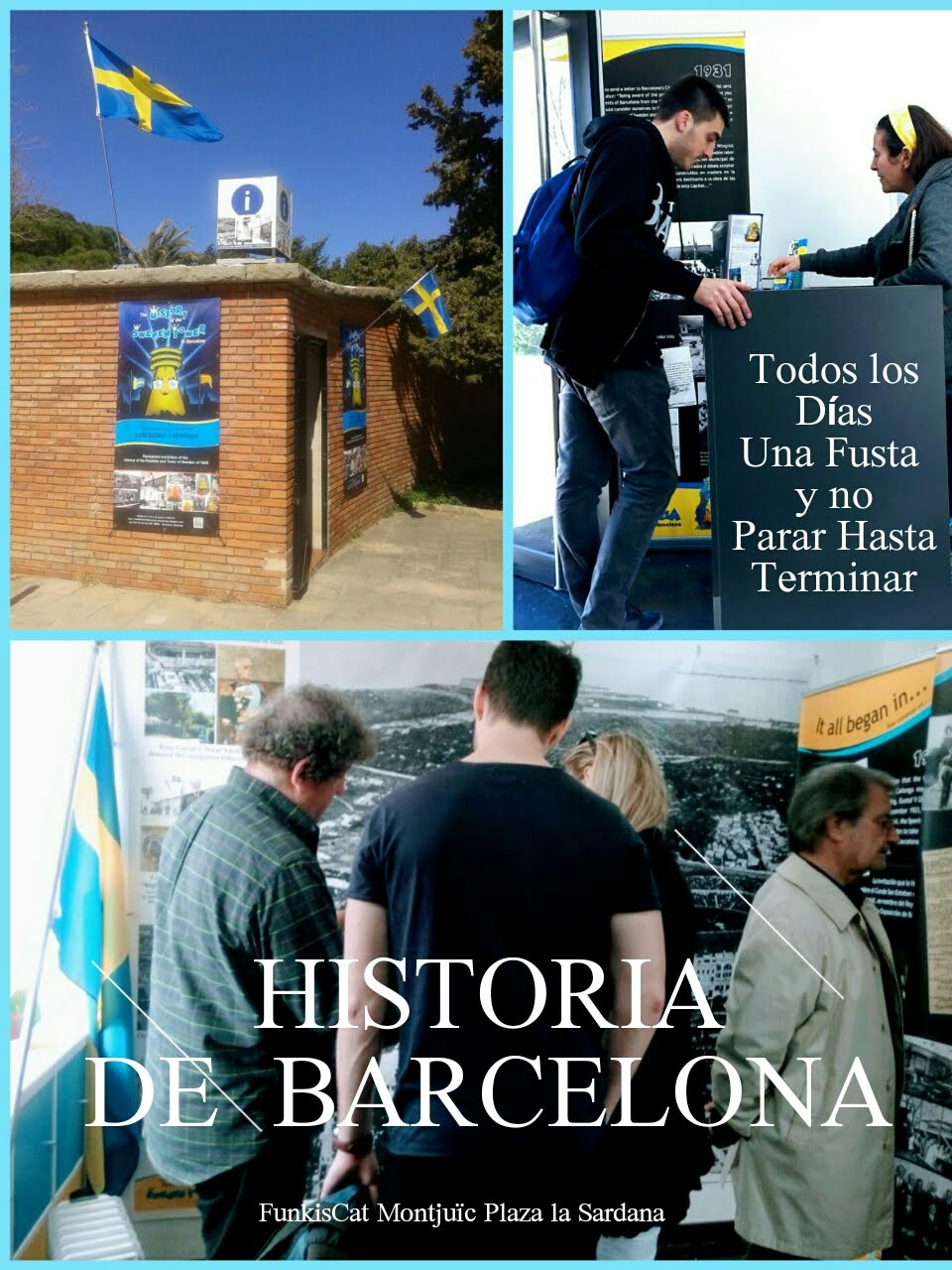 Punto de Información Torre de Suecia en Montjuïc