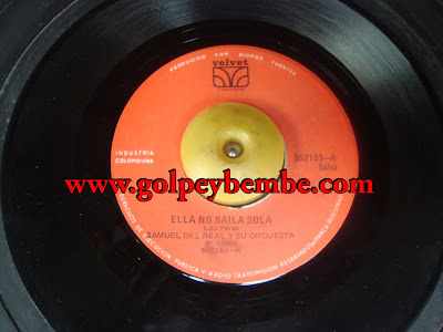 45 Rpm Samuel Del Real - Side A