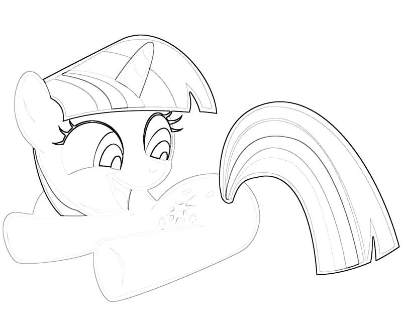 #14 Twilight Sparkle Coloring Page