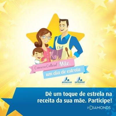 """Concurso Cultural """"Mãe, um dia de estrela!"""""""