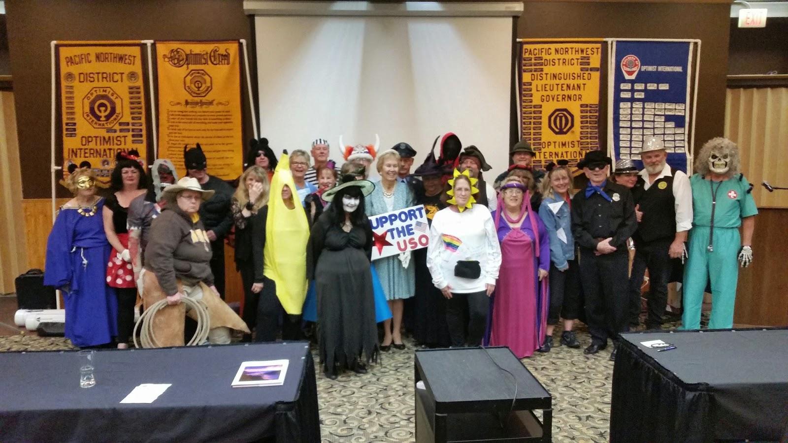 pnw district optimist clubs costume party
