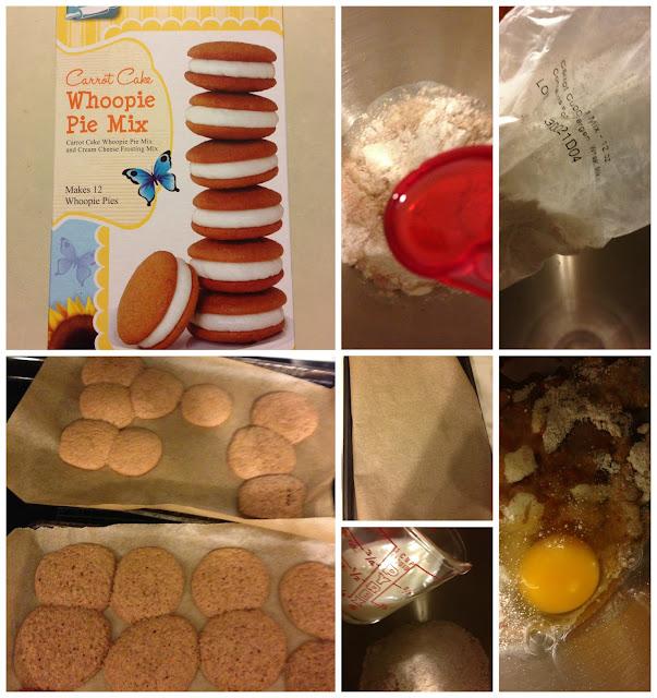 making cookie pies