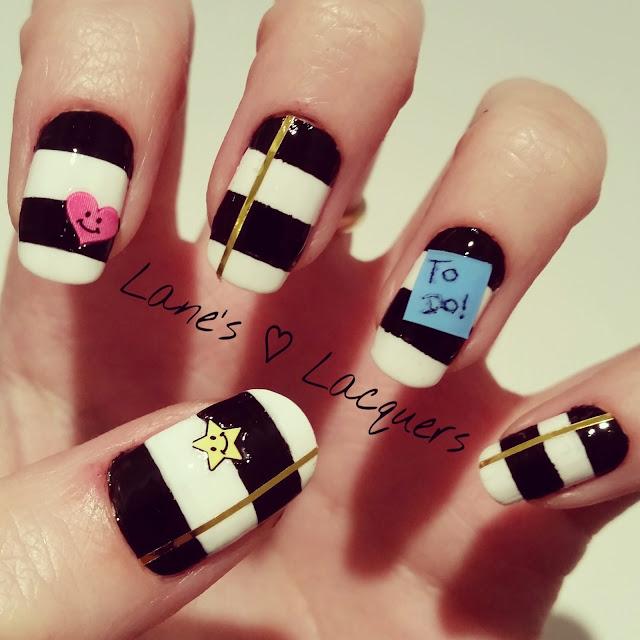 40-great-nail-art-ideas-geeks-day-designer-planner-striped-manicure (1)