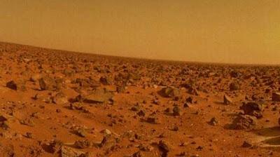 Planeta Marte, imágen Curiosity rover