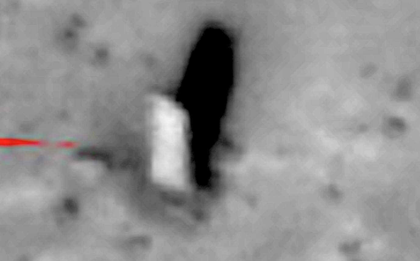 Mysterious monument is proof there was once life on Mars.