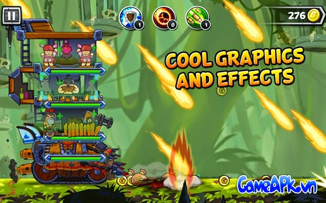 Monster Mania:Tower Strikes v1.0.1 hack full tiền cho Android