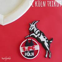 1. FC Köln Trikotkuchen TUTORIAL