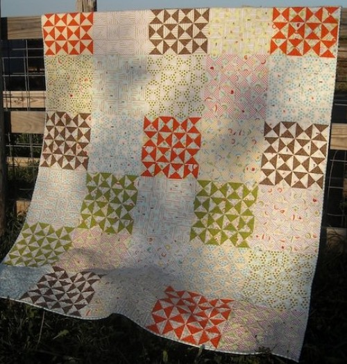 Hourglasses Quilt Tutorial