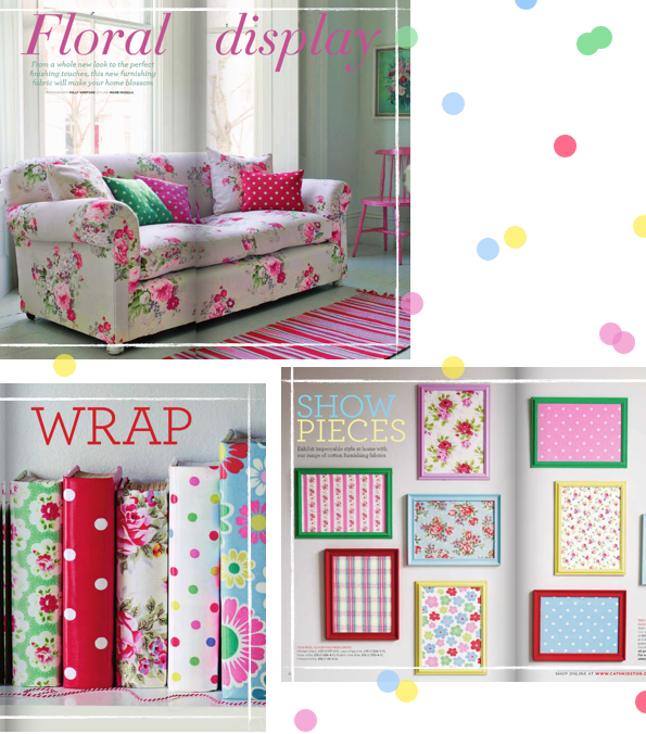Cath kidston magazine bright bazaar by will taylor for Cath kidston style bedroom ideas