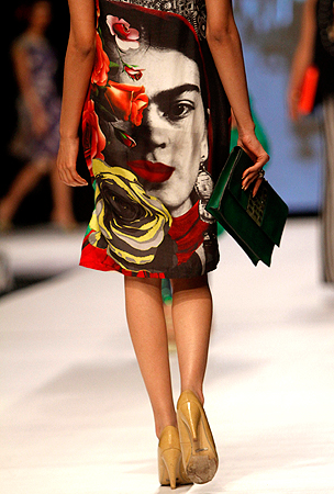 Deepak Perwani, Fashion Pakistan Week 5, Frida Kahlo Design