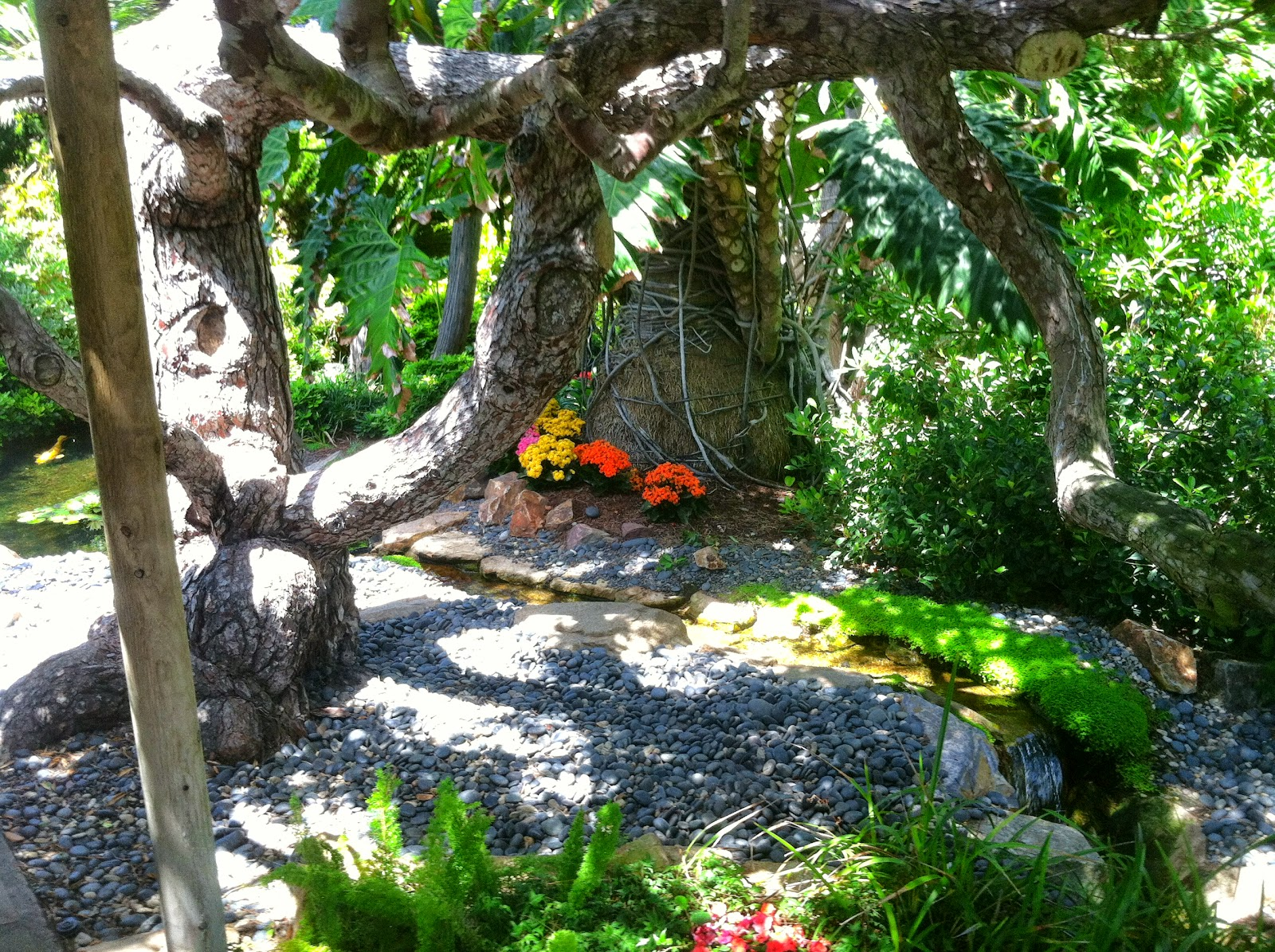 Living California Encinitas Meditation Garden Two