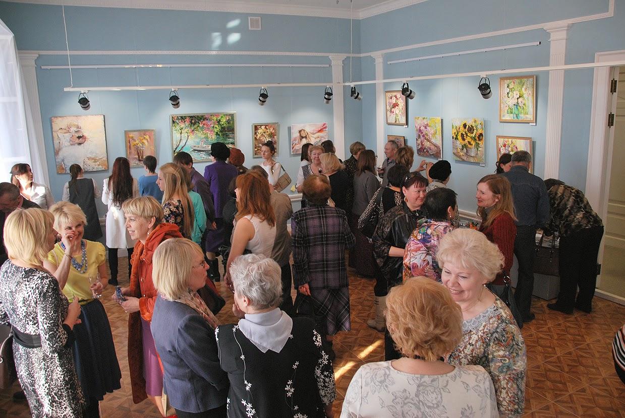 Выставка Анны Анисимовой в доме Шувалова