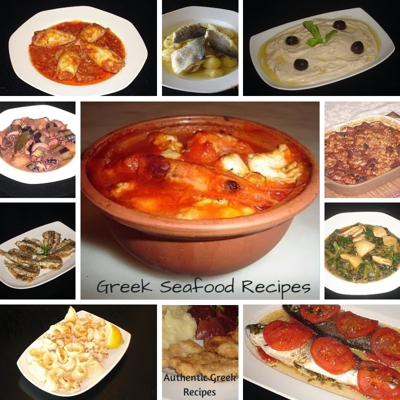Greek Seafood and Fish Recipes and Dishes