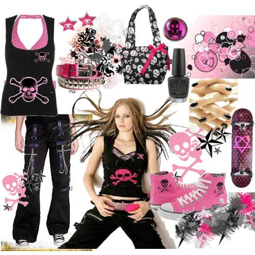 Yes I do Girl Emo Fashion