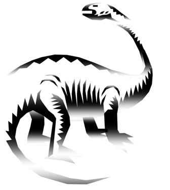 Many things seem absurd to a dinosaur.