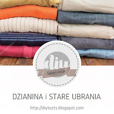 INSPIRACJE - Dzianiny i stare ubrania