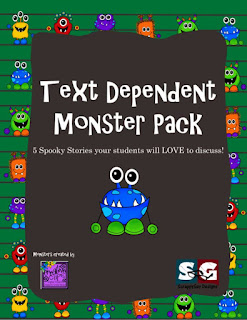 https://www.teacherspayteachers.com/Product/Text-Dependent-Monster-Pack-5-Literature-Tales-to-Discuss-and-Interact-1522364